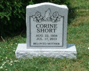 Grave Markers Decoration Etsy Grave Marker Template