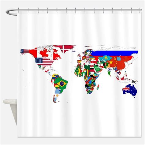flag shower curtain flags of the world shower curtains flags of the world