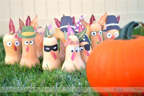 printable turkey bowling game 10 thanksgiving family fun games