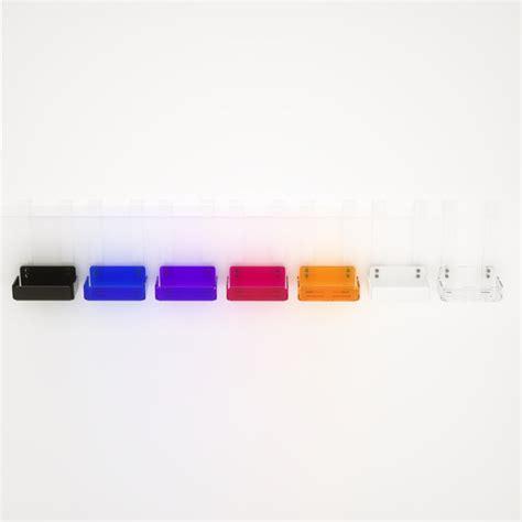 mensola plexiglass mensola singola per doccia in plexiglass colorato 100