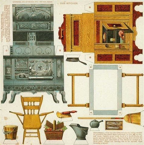 printable paper furniture the 92 best images about miniature printable furniture on