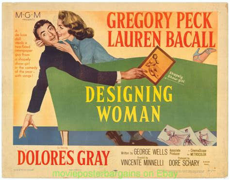designing women movie designing woman movie poster 22x28 half sheet gregory peck