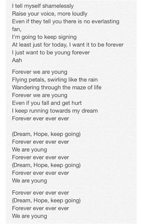 bts lost lyrics 2 3 translated lyrics for young forever by bts 방탄소년단 rap