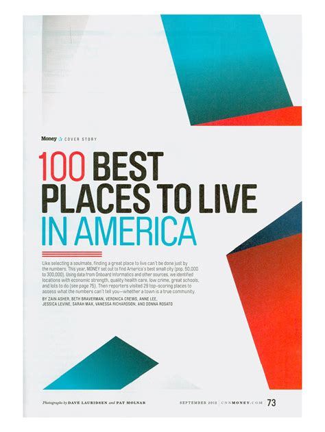 10 best small towns to live in america real estate agent u money best places to live best place 2017