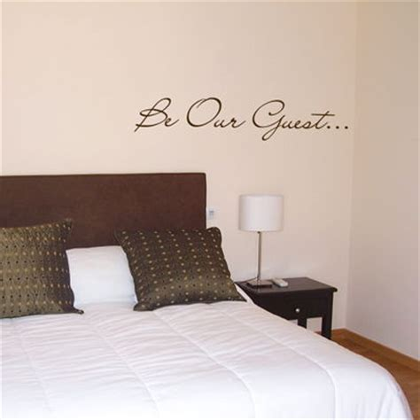 wall decals for guest bedroom guest bedroom wall decals 28 images be our guest words quote wall decals be our