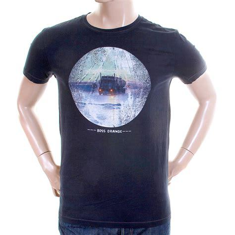 t shirt hugo boss orange label mens navy truffle 2 50233003