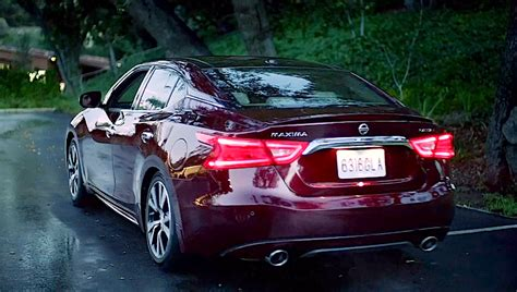 nissan maxima platinum 2015 next generation 2016 nissan maxima shows up during super