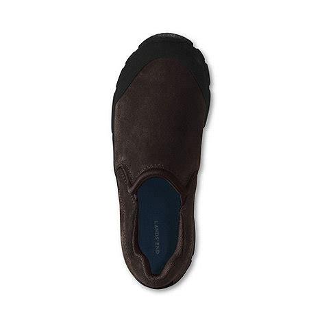 lands end brown boys all weather slip on shoes debenhams