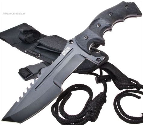 tactical fighting knives mtech xtreme tactical fighting sawback tanto knife combat