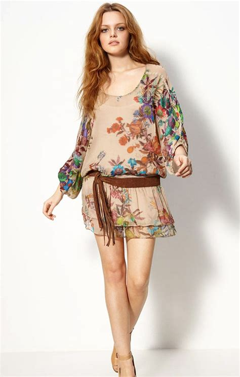 Flowery Dress By Delima Style 17 best images about hippie dress on winter collection bohemian style dresses and