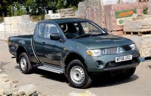 Mitsubishi L200 Up Mitsubishi L200 Wins Award For Best Up In 2007