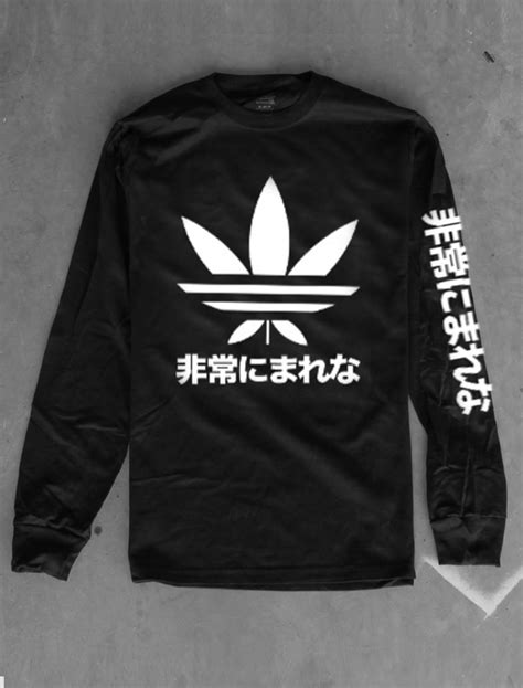 sweater black white adidas sweater cotton japanese adidas sweater