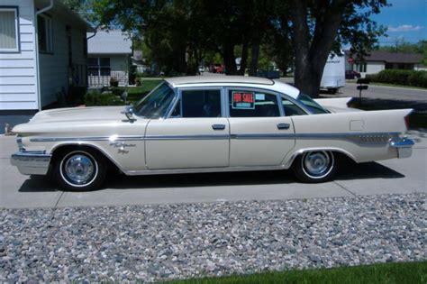 1959 Chrysler New Yorker by 1959 Chrysler New Yorker For Sale Photos Technical