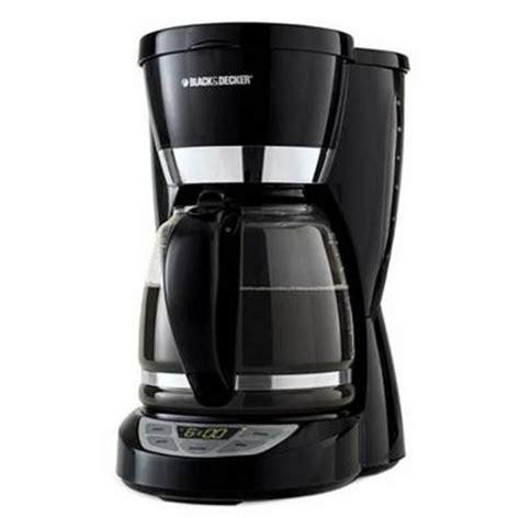 Coffee Maker Black And Decker black decker 12 cup programmable coffeemaker cm1050wd walmart ca