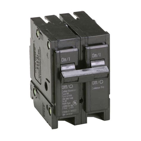 Eaton 20 Amp 2 in. Double Pole Type BR Replacement Circuit Breaker BR220   The Home Depot