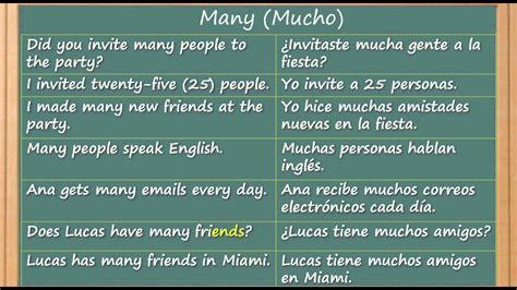 aprender ingles gratis como aprender ingles rapido y facil la palabra many