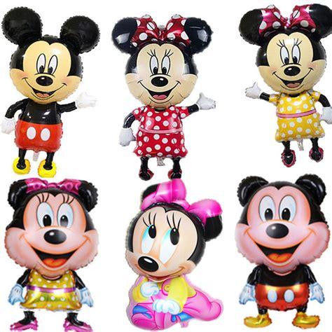 Dijamin Balon Foil Cake Minnie Mickey á new 112 64cm î bowknot bowknot mickey minnie mouse foil balloons ã ã classic classic