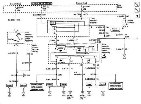 need wiring diagram for 2000 chevy cavalier 4 door