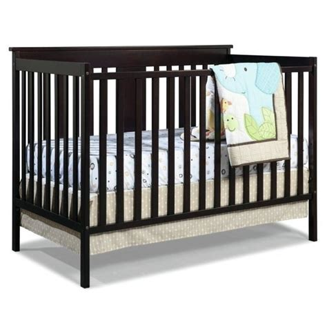 convertible crib espresso ridge convertible crib in espresso 04510 359