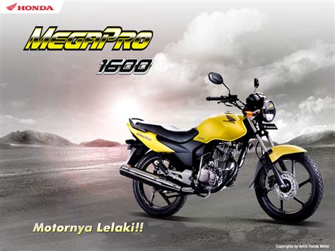 Striping Megapro 2008 sejarah honda mega pro di indonesia motor tuo