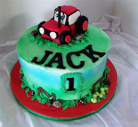 birthday cake tractor cakes decoration ideas little birthday cakes