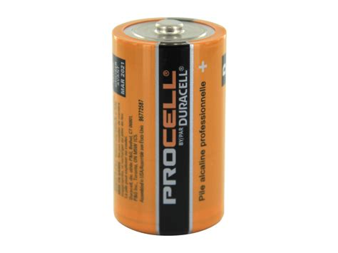 d cell duracell procell d alkaline battery sold separately