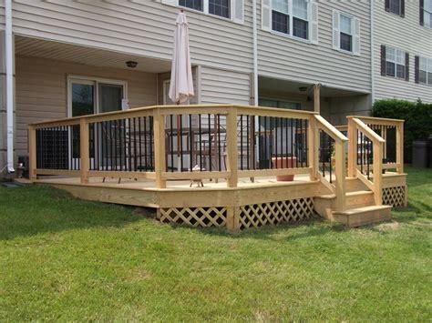 deck railings deck railing and spindles vinyl and wood deck rails