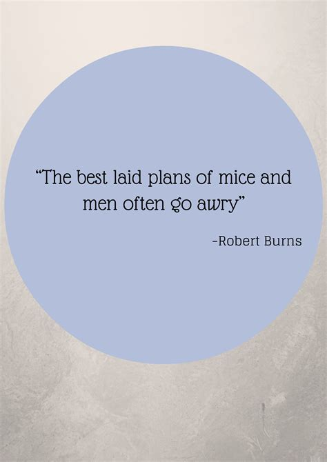 The Best Laid Plans by The Best Laid Plans Of Mice And Quotes