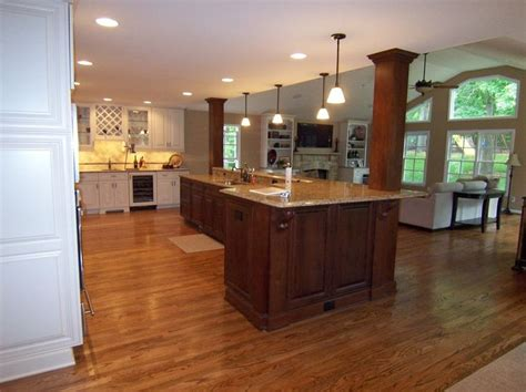 kitchen island with columns load bearing wall dream home 165 best bv dividers half walls room transitions