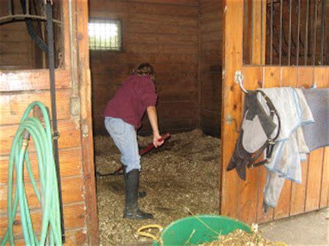 mucking stalls jo test site when manure beckons