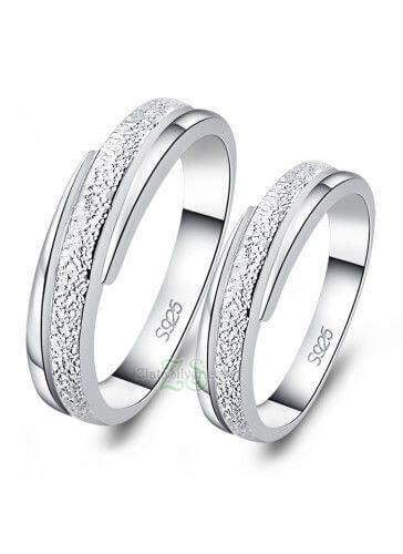 Cincin Palladium Nikah Pasangan Tunangan Kawin 819 cincin kawin zlata silver