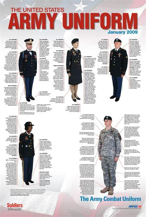 uniforms regulations on pinterest armies navy uniforms and army service uniform regulations army asu uniform poster
