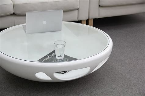 White Coffee 1 Renteng coffee table exquisite white glass coffee table white coffee
