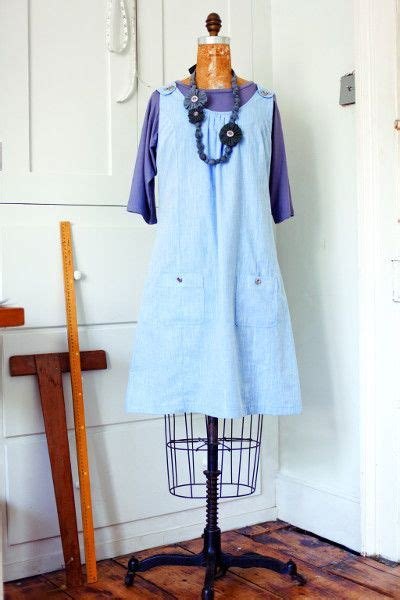 simple pattern pinafore dress pinafore dress apron sewing pinterest apron