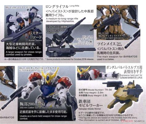 Hg Ms Option 5 Tekkadan Mobile Worker Gundam Ibo ms option set 5 tekkadan mobile worker hg gundam