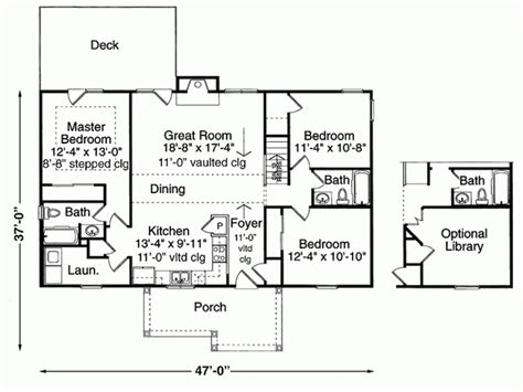 1300 sq ft floor plans 1300 sq ft 3 bd level 1 house plans pinterest