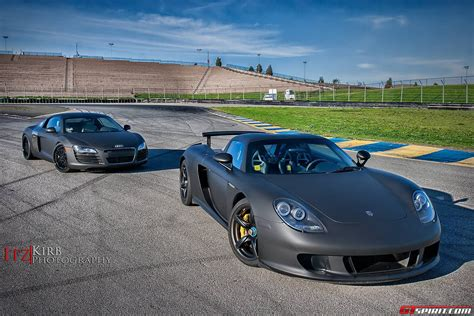 matte black porsche photo of the day matte black porsche carrera gt gtspirit
