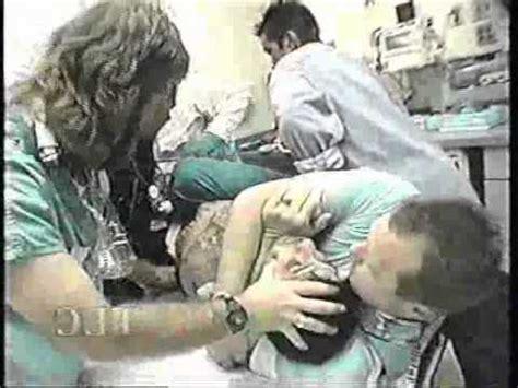 Emergency Room Detox by Heroin Addict Freaks Out In Hospital Emergency Room Er