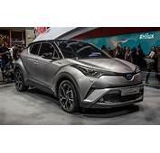 2017 Model Toyota C HR Cenevre Otomobil Fuarında