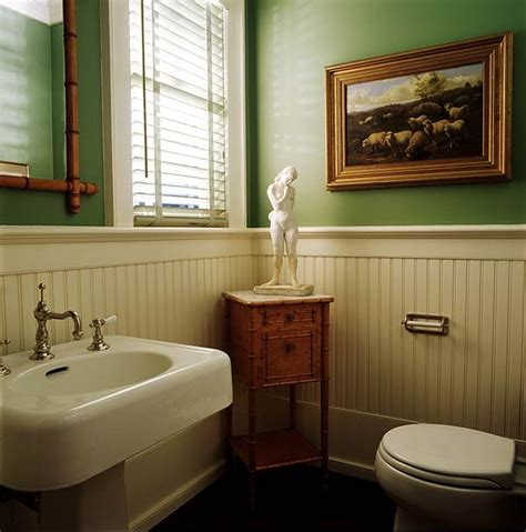White Wainscoting Bathroom by Get A Cottage Look With Beadboard Paneling For The Home