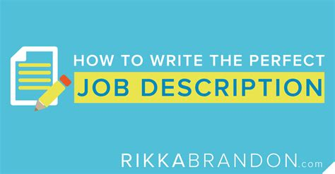 how to write a description rikkabrandon