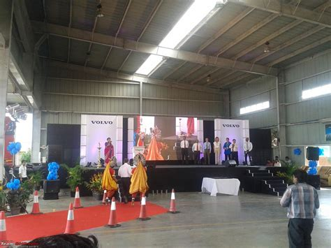 report volvo indias  anniversary celebrations   bangalore factory team bhp