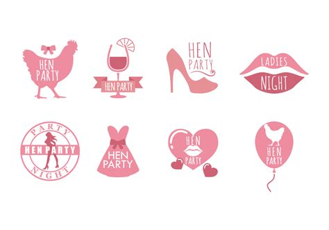 hen party hen party vector icons download free vector art stock