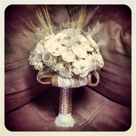 shabby chic bridal bouquet my own shabby chic bridal bouquet weddingbee photo gallery