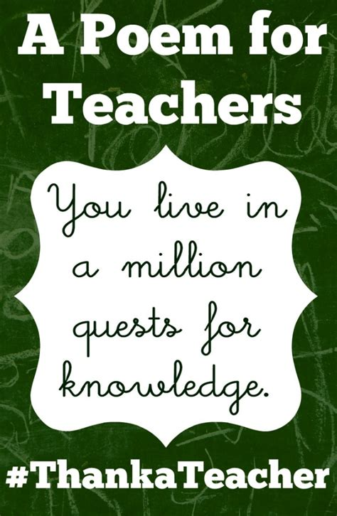 a tribute to teachers wit and wisdom information and inspiration about those who change our lives books a poem for teachers thank a a tribute to mr webb