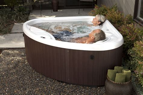 outdoor hot tub recharge with a hotspringspas compact hot tub perfect for any small patio narrow deck or any