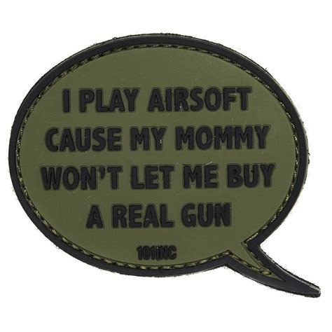 Rubber Patch Rubber Perekat Karet Pvc Airsoft Sniper 101 inc i play airsoft od green rubber patch softair