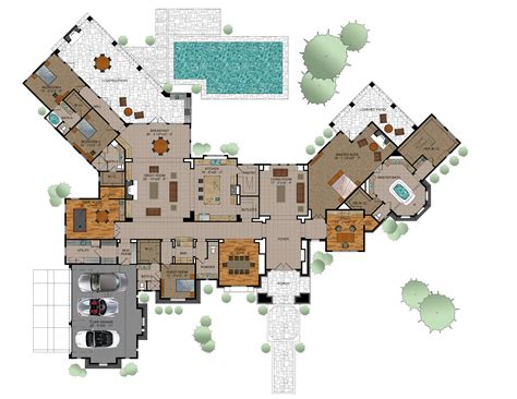 Customized Home Plans by Diamante Custom Floor Plans Diamante Custom Homes