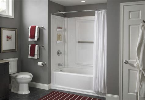 lowes bathroom installation install a tub surround or shower surround