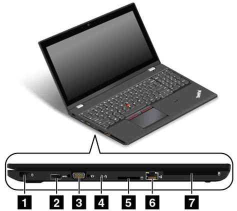 Lenovo W550s left side view thinkpad t550 w550s lenovo support